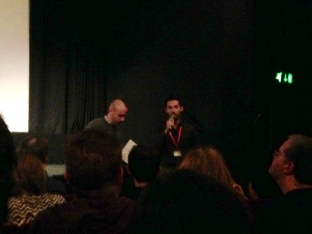Branden Kramer (on right).  Director of 'Ratter'